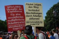 Seebrücke Demo in Berlin, 7. Juli 2018